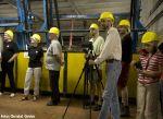Mitglieder des Hamburger Unterwelten e.V. bei der Besichtigung im Pumpwerk
