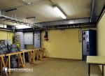 Frühere Zentrale im Bunker