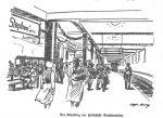 Haltestelle Stephansplatz 1929 (Quelle: Hamburger Nachrichten, 1.6.1929)