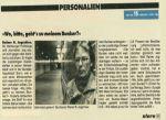 Auszug aus dem Stern vom 03.04.1985