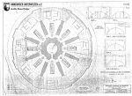 Grundriss der oberen Ebene mit Luftschutzeinbauten