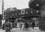 Die Haltestelle Hoheluftbrücke 1934 (Quelle: Hamburger Hochbahn AG, Archiv)