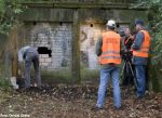 Ende der Dokumentation - das Bauwerk wird verschlossen